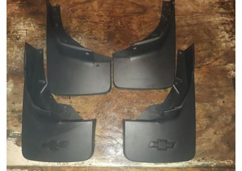 New factory mudflaps for 2015 Chevrolet Silverado/Tahoe/Suburban
