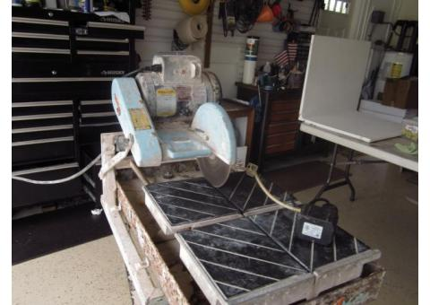 Target TA10100 Wet Saw - $225 (Central Palm Beach County