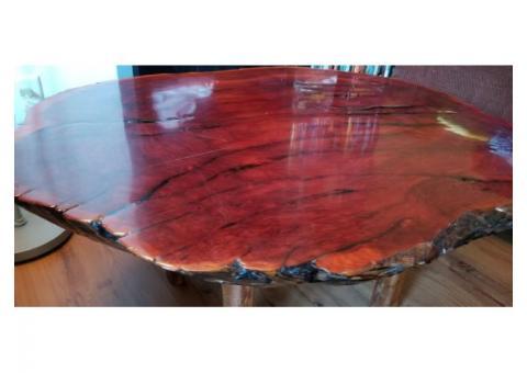 Hand made mahogany table
